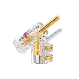 WBT 0610 Cu Safety-pin banaan (Per Stuk)