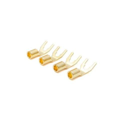 Oyaide GYT Spade, 24K gold (4 Stück)