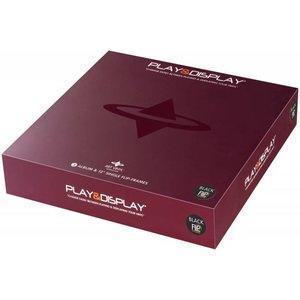Art Vinyl 3 x Play & Display - Black