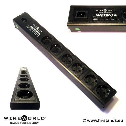 WireWorld Matrix 2 EU 6-way power strip