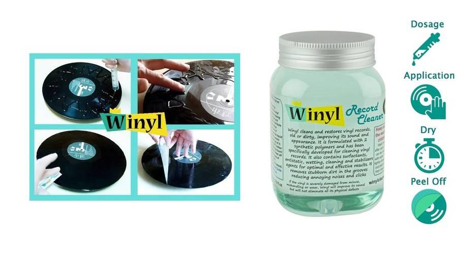 Winyl Record Cleaner! Reinigt uw vinyl op een andere manier!