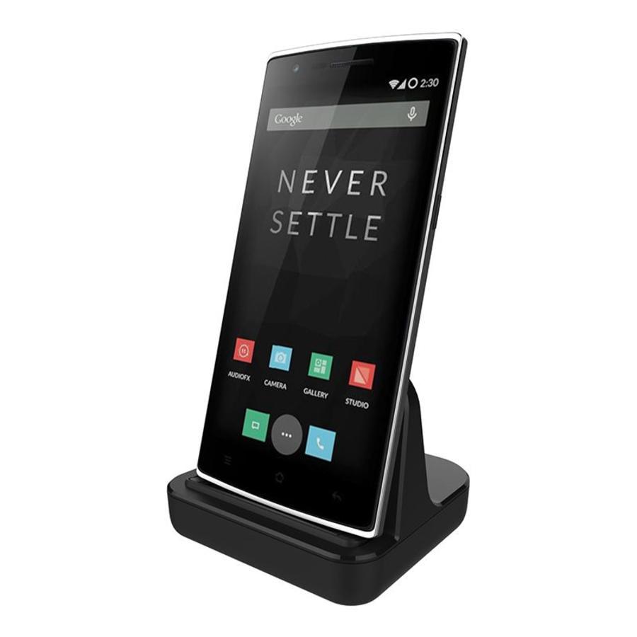 Docking Zwart OnePlus One/X Micro USB