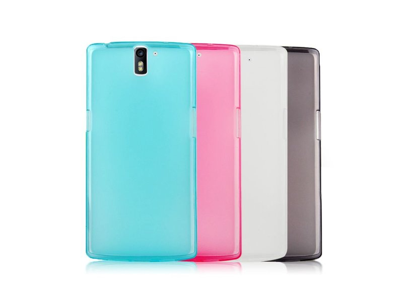 OPPRO Silicone Cover Blauw OnePlus One