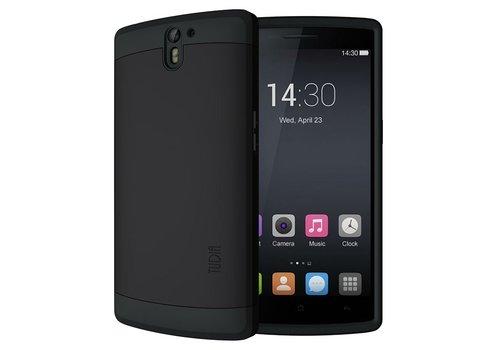 Tudia Cygen Hoesje Mat Zwart OnePlus One