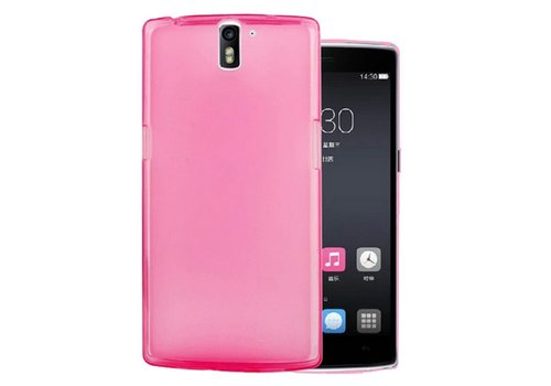 OPPRO Silicone Cover Roze OnePlus One