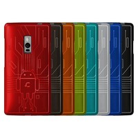 Bugdroid Circuit Case Two Red OnePlus