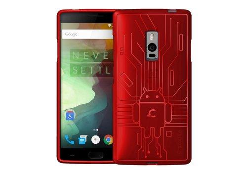 Cruzerlite Bugdroid Circuit Case Red OnePlus 2