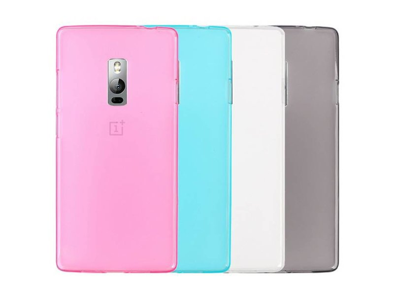OPPRO Silicone Case Roze OnePlus Two