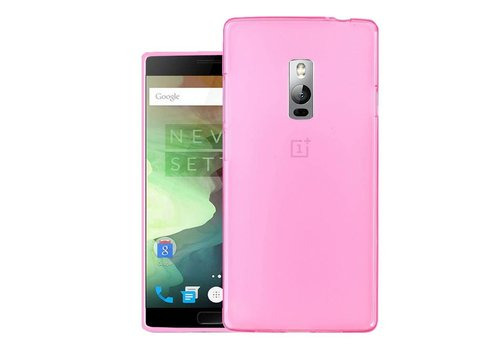 OPPRO Silicone Case Pink OnePlus Two