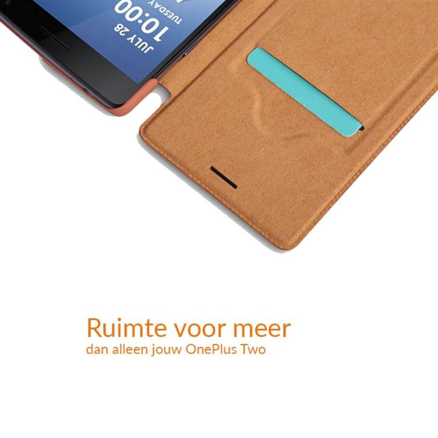 Qin Flip Case Rood OnePlus Two