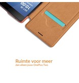 Nillkin Qin Flip Case Zwart OnePlus Two