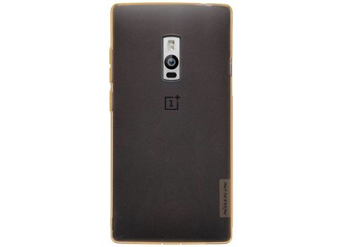 Nillkin TPU Case Transparent Brown OnePlus Two