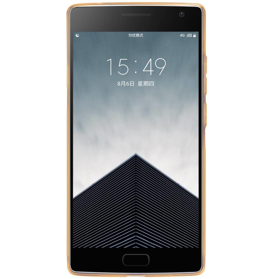 TPU Case Transparant Bruin OnePlus Two