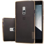 Nillkin TPU Case Transparant Bruin OnePlus Two
