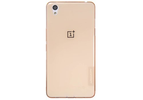 Nillkin TPU case Transparent Brown OnePlus X