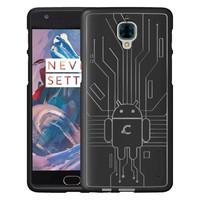 Bugdroid Case Zwart OnePlus 3/3T