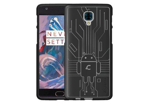 Cruzerlite Bugdroid Case Black OnePlus 3