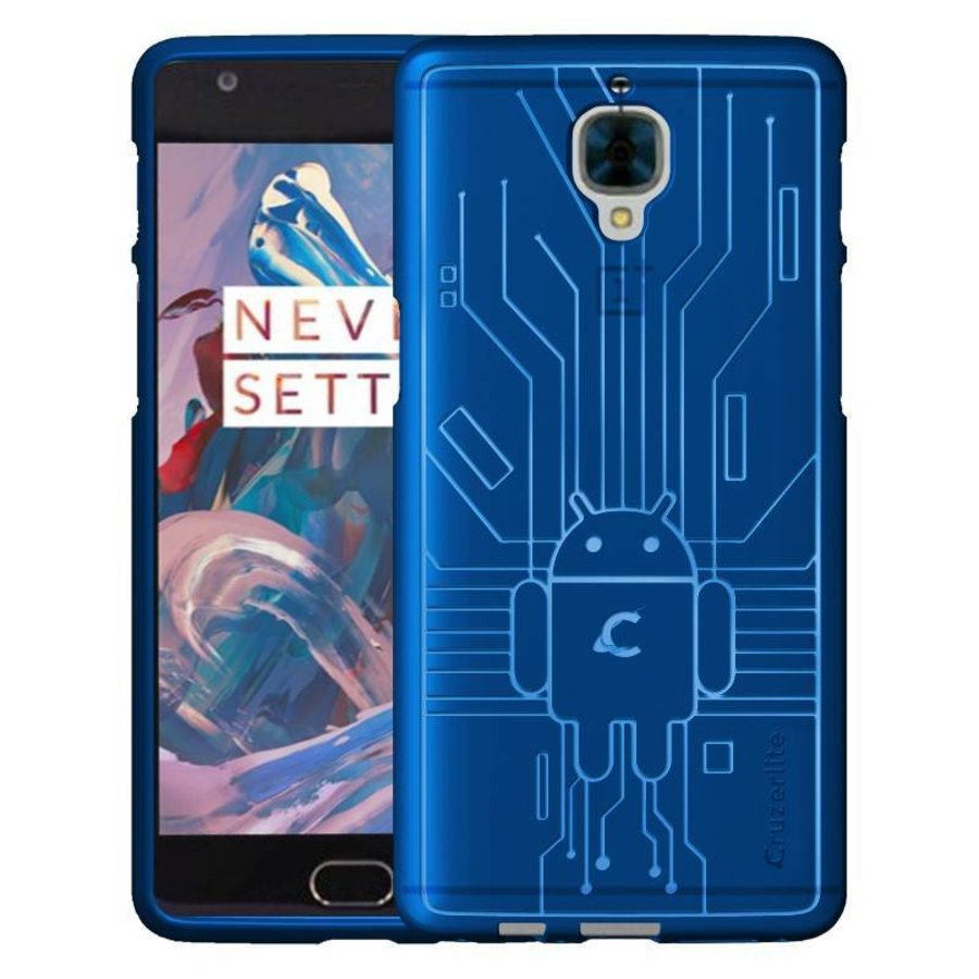 Bugdroid Case Blue OnePlus 3