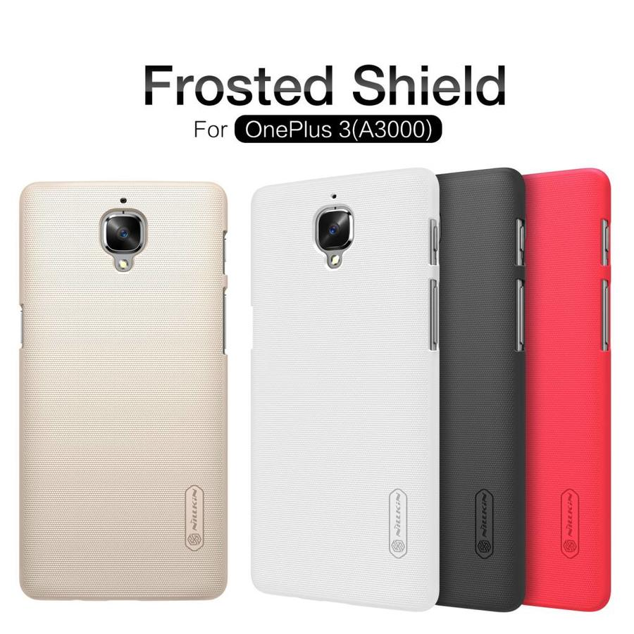 Frosted Shield Case White OnePlus 3