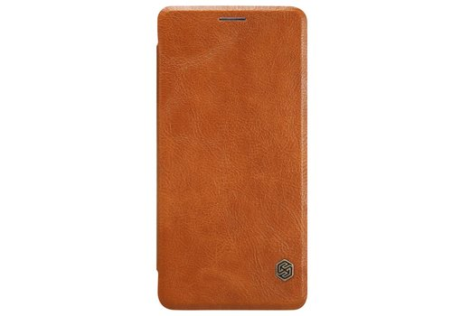 Nillkin Qin Flip Case Brown OnePlus 3
