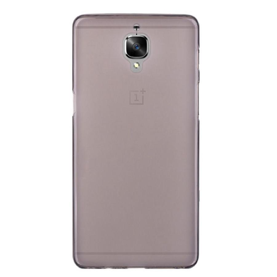 Silicone Case Black OnePlus 3 / 3T