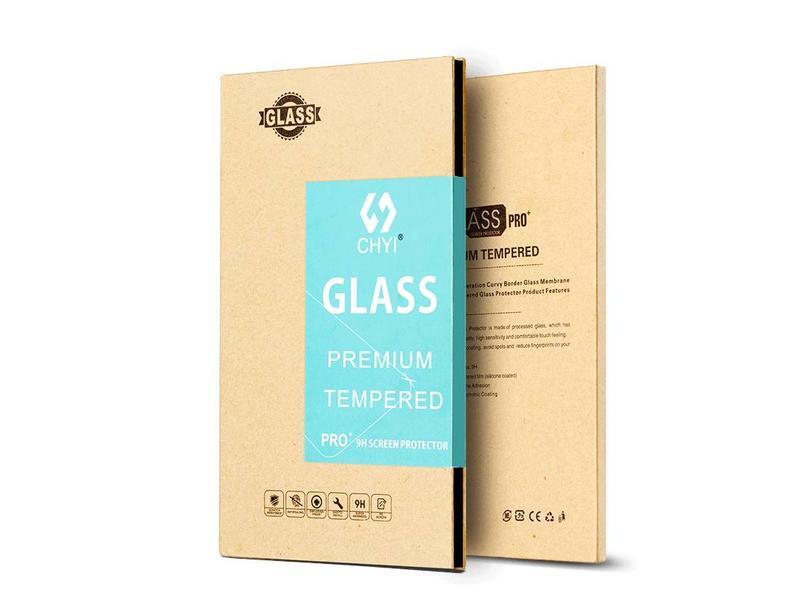 CHYI 9H Premium Glass Screen Protector Zwart OnePlus 3/3T