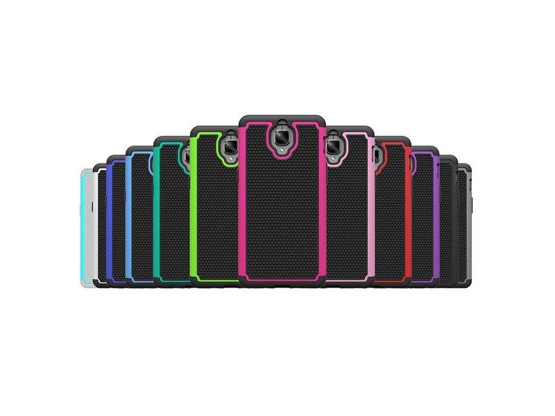 OPPRO Dual Layer Case Zwart OnePlus 3/3T