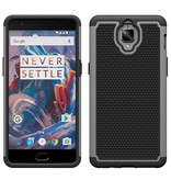 OPPRO Dual Layer Case Grijs OnePlus 3/3T
