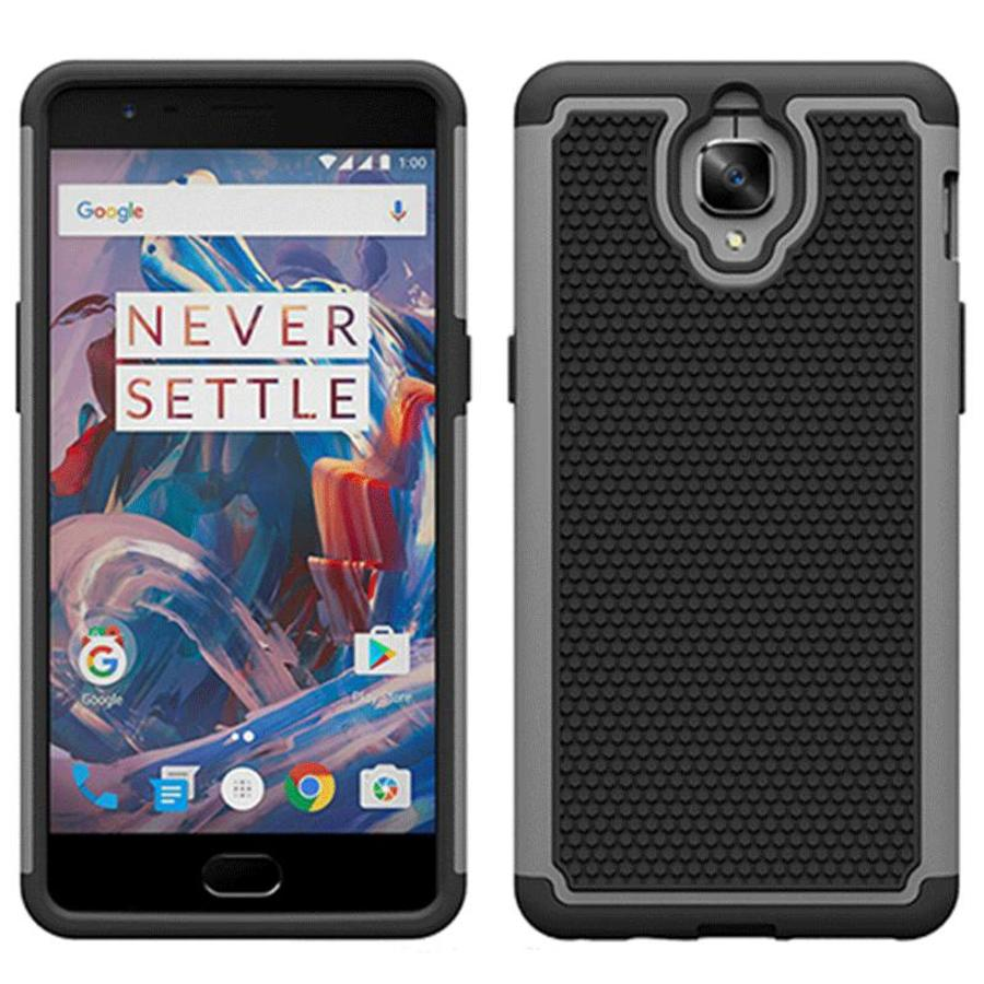 Dual Layer Case Grijs OnePlus 3/3T