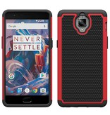 OPPRO Dual Layer Case Rood OnePlus 3/3T