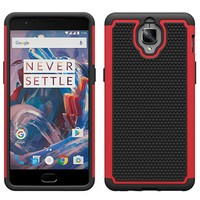 Dual Layer Case Rood OnePlus 3/3T
