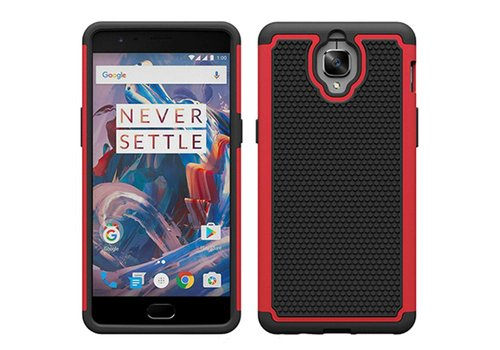 OPPRO Dual Layer Case Red OnePlus 3