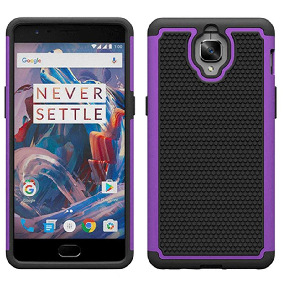 Dual Layer Case Purple OnePlus 3