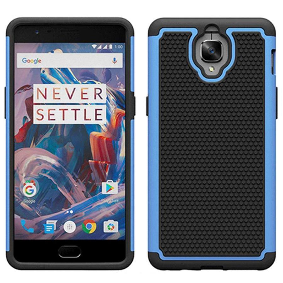 Dual Layer Case Lichtblauw OnePlus 3/3T