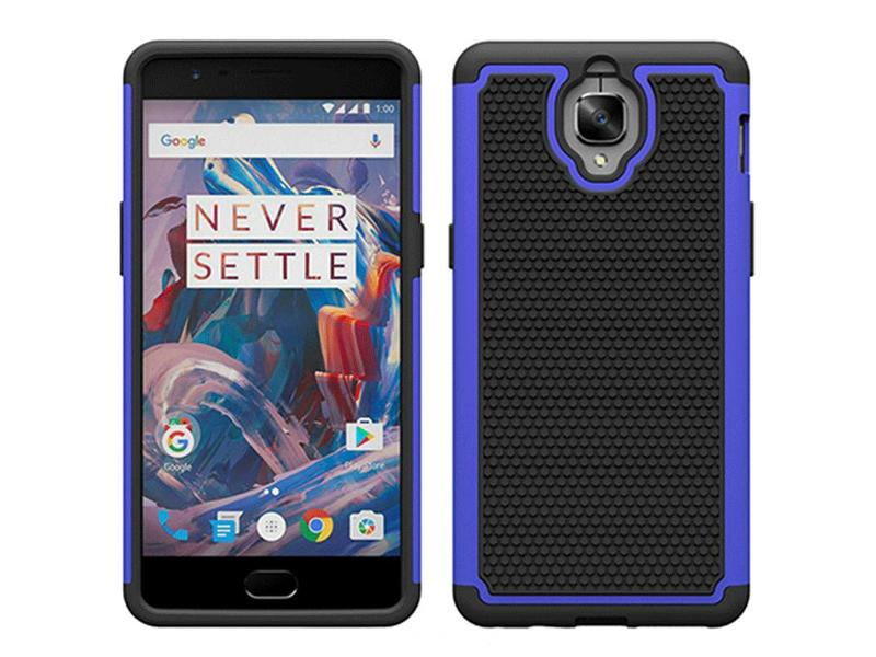 OPPRO Dual Layer Case Donkerblauw OnePlus 3/3T