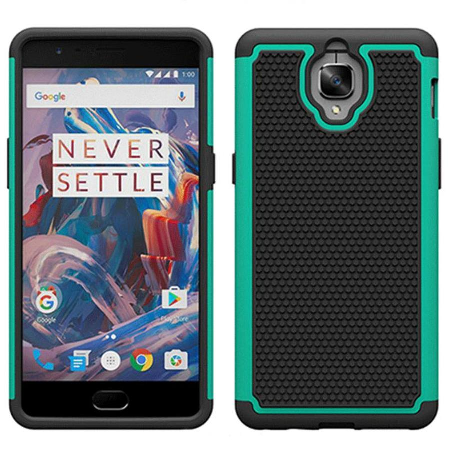 Dual Layer Case Donkergroen OnePlus 3/3T