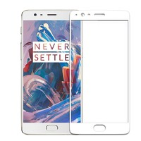 9H CP + Glass Screen Protector White OnePlus 3