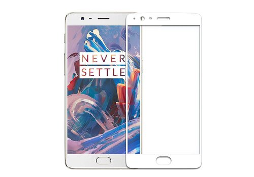 Nillkin 9H CP + Glass Screen Protector White OnePlus 3