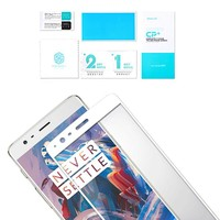 9H CP+ Glass Screen Protector Wit OnePlus 3/3T