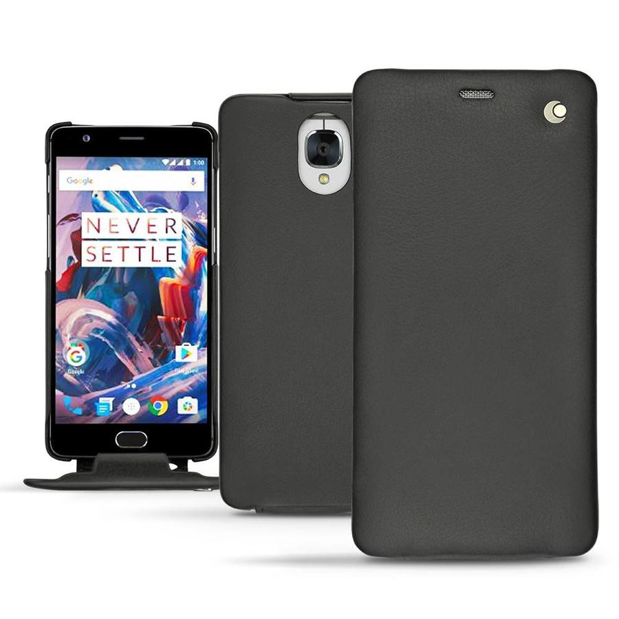 Tradition Nappa Leather Slim Case Black OnePlus 3 / 3T