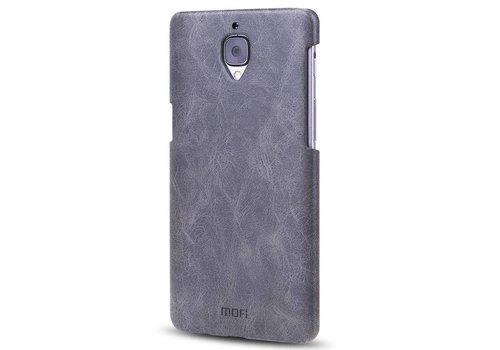 MOFI PU Lederen Case Zwart OnePlus 3/3T