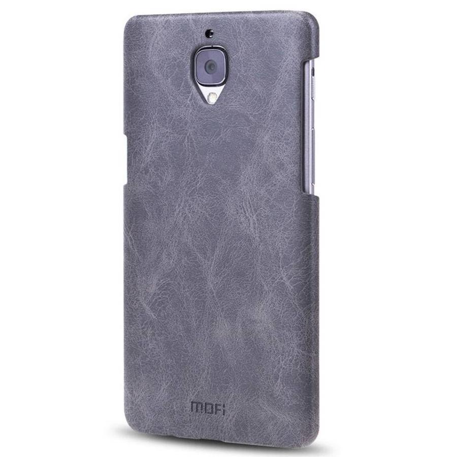 PU Leather Case Black OnePlus 3 / 3T