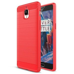 OPPRO Brushed Rugged Armor Red OnePlus 3 / 3T