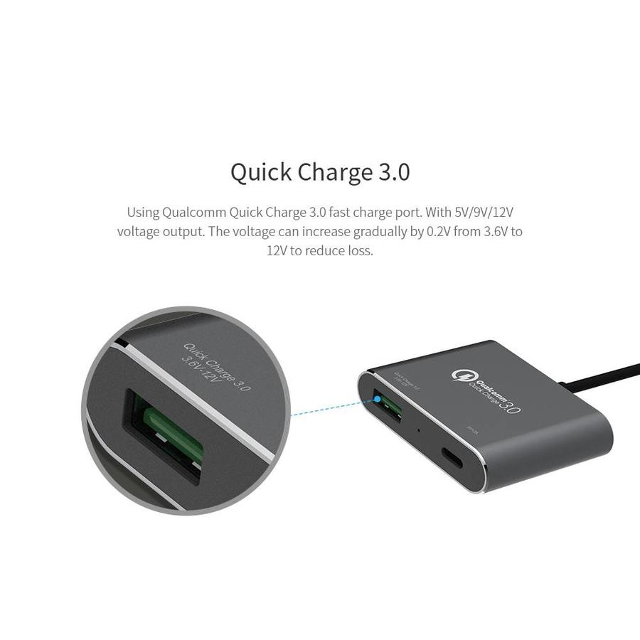 PowerShare Autolader Fast Charge 3.0 USB OnePlus