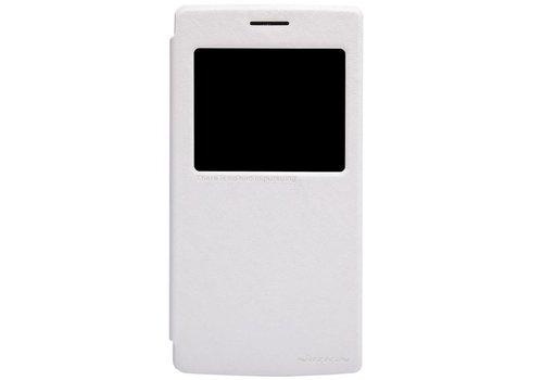 Nillkin Sparkle Flip Case White OnePlus One