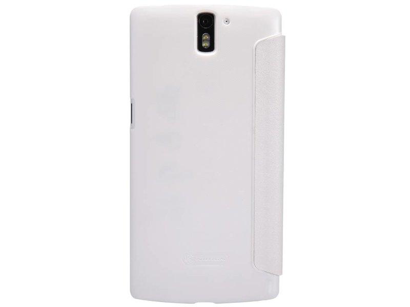 Nillkin Sparkle Flip Case Wit OnePlus One