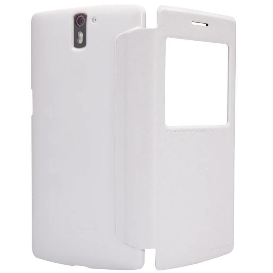 Sparkle Flip Case White OnePlus One
