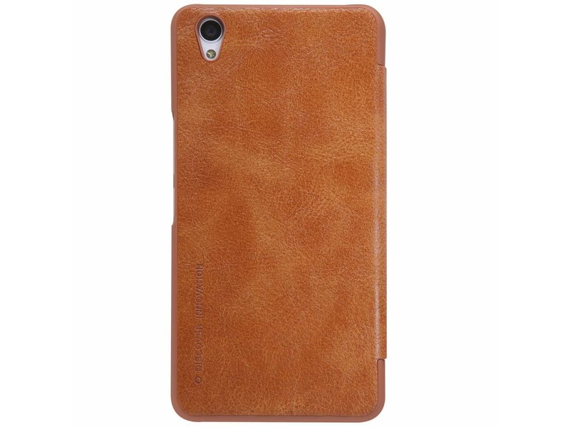 Nillkin Qin Flip Case Bruin OnePlus X