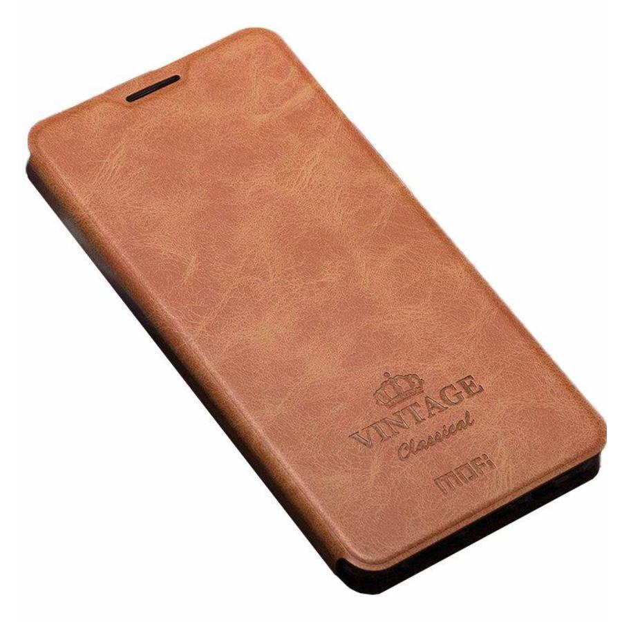 Flip Case Vintage Bruin OnePlus 3/3T