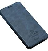 MOFI Flip Case Vintage Blauw OnePlus 3/3T